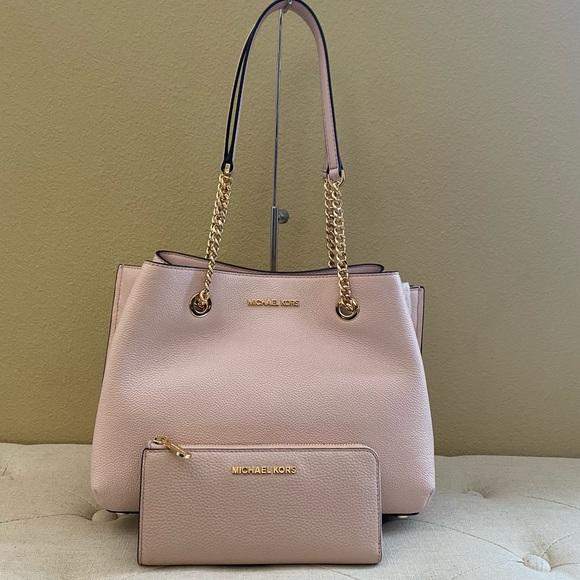 New Michael Kors Magen satchel & wallet